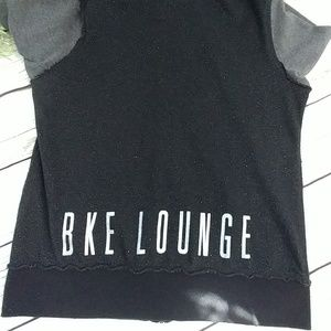 BKE Tops - BKE LOUNGE sequined zip sweatshirt XL